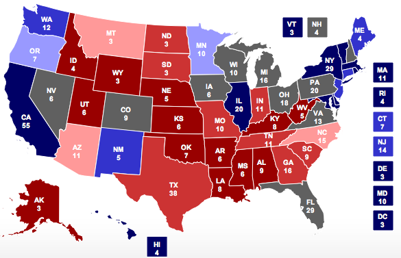 Why five states may decide the presidential election | BANG.
