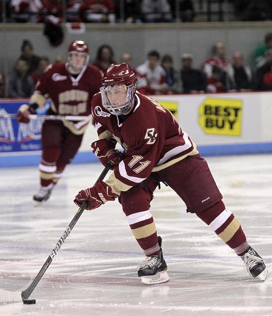 pat mullane bc hockey captain
