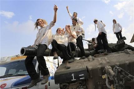 APTOPIX Mideast Israel Palestinians