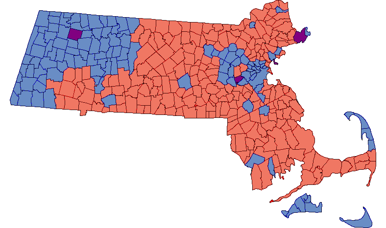 2010 Massachusetts Special Election Results