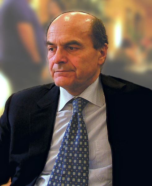 Pier Luigi Bersani Photo Courtesy of Wikimedia COmmons
