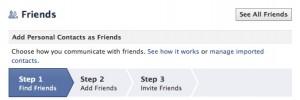 Find Friends FB
