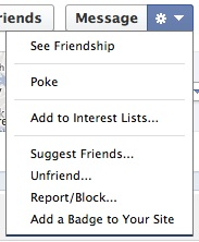Friend Options
