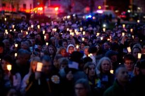 Boston Marathon Candlelight Vigil  Courtesy of Flickr