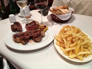 ...looks like a well balanced meal to me!