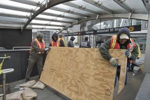 Hurricane Sandy construction