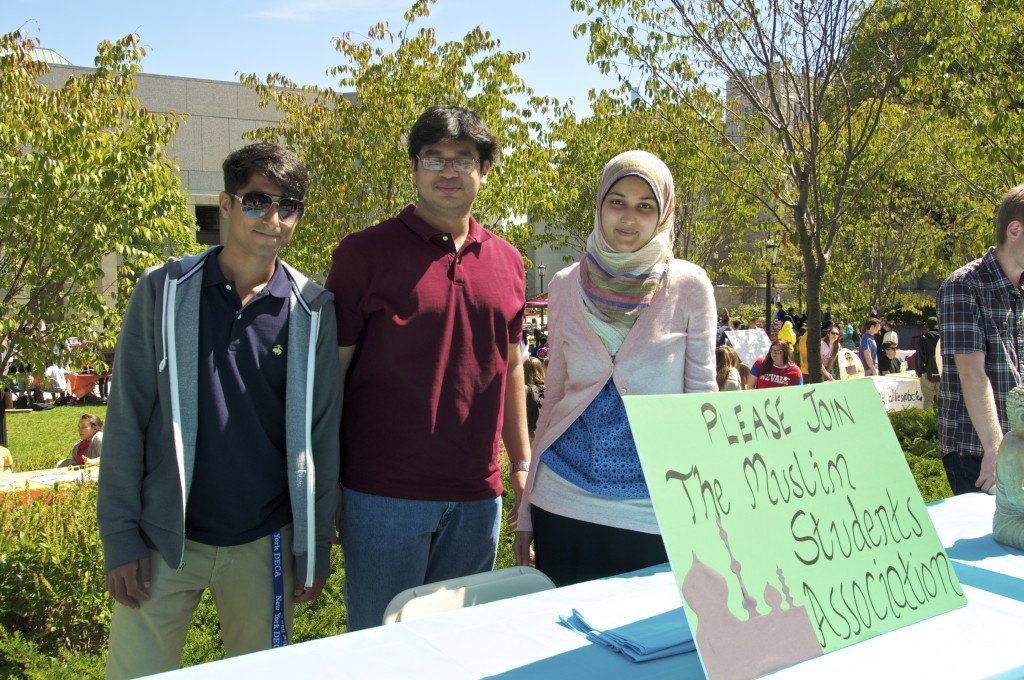 """BC caters to a diverse group of multi-faith students. We conduct friday prayers and have general meetings where students can learn more about Islam and have an outlet for that."" --Muslim Student Association"