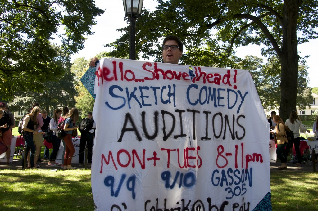 """Shovelhead is for people who are looking to do something fun and very different... and to make their biceps look bigger.""  --Hello Shovelhead, BC Improv group"