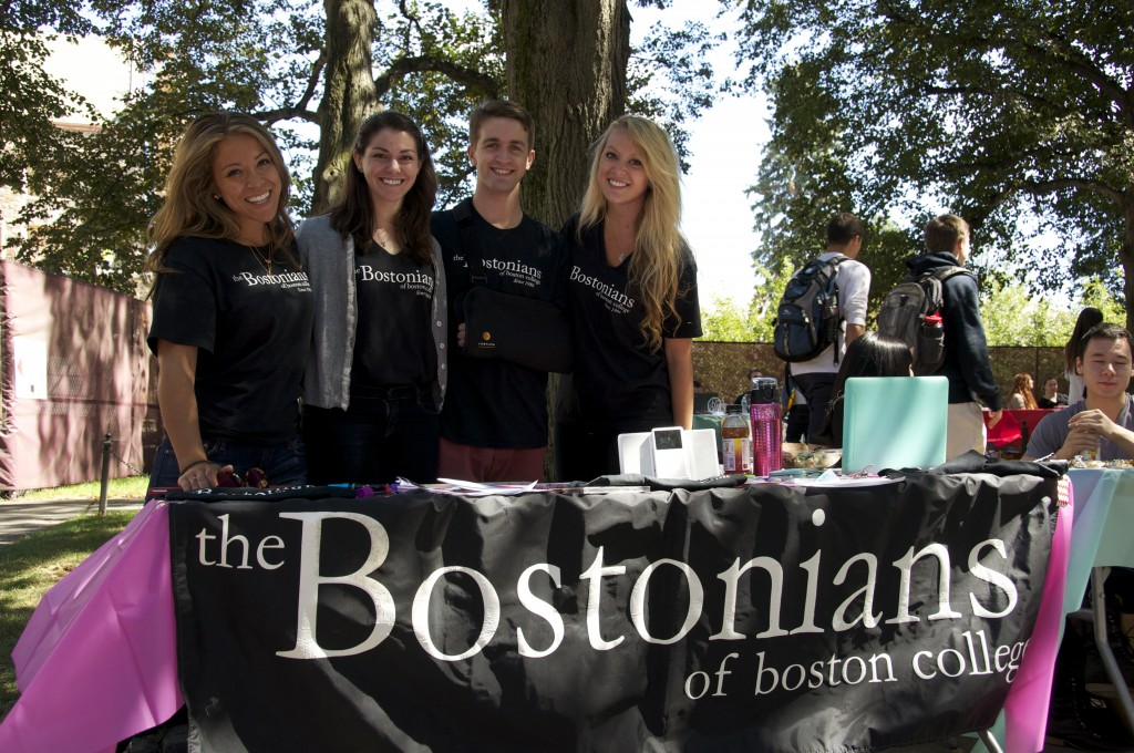 """We all know how daunting it is to be a freshman coming into BC. We believe that everyone has a every right to sing so our auditions are rather laid-back and we hope to create an environment that's conducive to getting assimilated into BC."" --The BC Bostonians, the university's oldest a capella group"