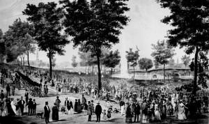 Boston Commons Throwback Image via Wikipedia