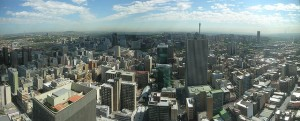 A panoramic view of Johannesburg. Photo courtesy of MisterE/Flickr.