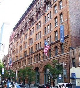The Baruch College library. Photo courtesy of Beyond My Ken/Wikimedia Commons.