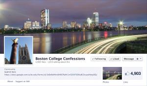 Screenshot via Boston College Confessions/Facebook.