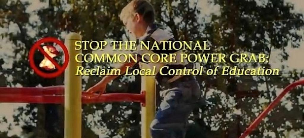 Photo courtesy of Stop Common Core/Facebook