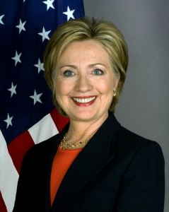 Was former Secretary of State a threat to the US as a woman? Image via Hilary Clinton Facebook