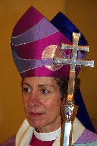 Katharine Jefferts Schori, the first female Presiding Bishop in the Episcopal Church. Photo courtesy of Jonathunder/Wikimedia Commons