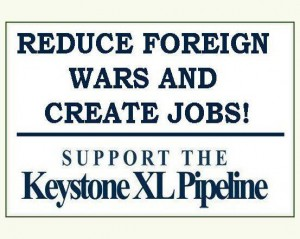 Photo courtesy of Support the Keystone XL Pipeline/Facebook.
