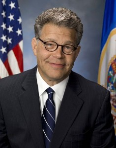 Al Franken has been in Congress since 2009. Photo courtesy of Jeff McEvoy/Wikimedia Commons