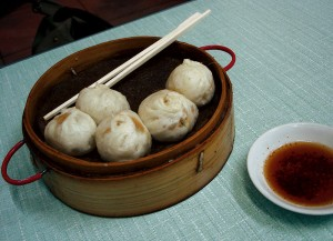 Yum, baozi. Photo courtesy of own work/Wikimedia Commons