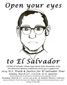 Photo courtesy of U.S. Truth and Justice for El Salvador Tour/Facebook
