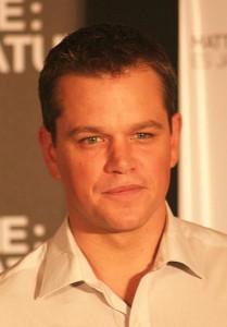 Matt Damon Wikimedia Commons