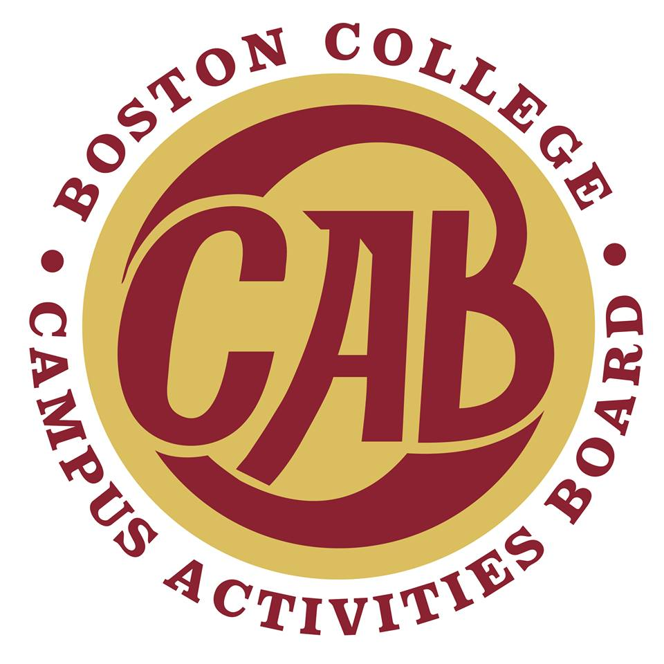 Photo courtesy of Boston College CAB / Facebook.