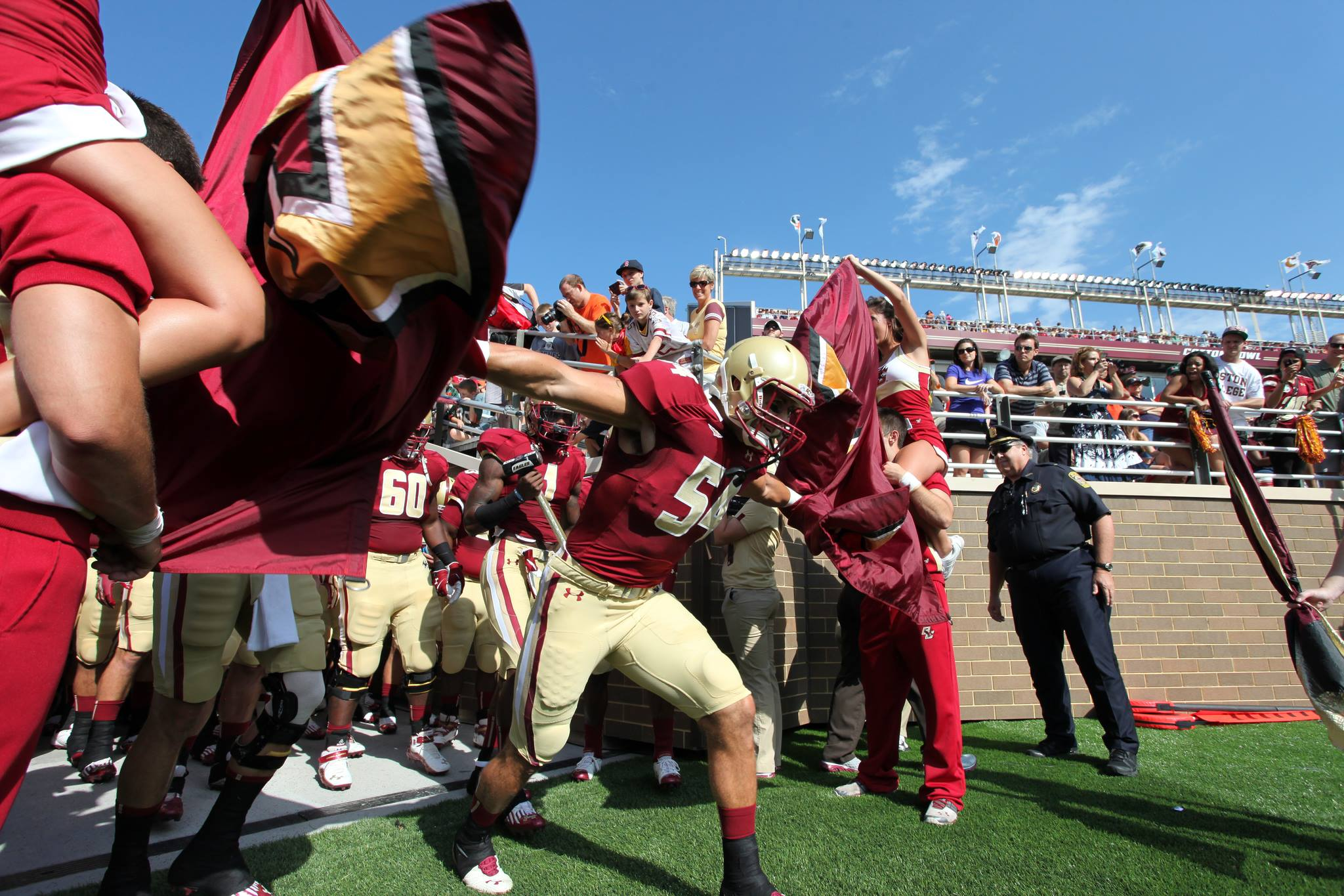 Photo courtesy of Boston College Football / Facebook