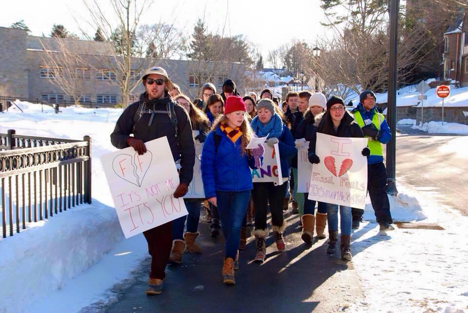 Photo courtesy of Climate Justice at Boston College/Facebook