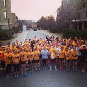 Photo Courtesy of Boston College Campus School Running Club & Marathon Team 2014-15 / Facebook