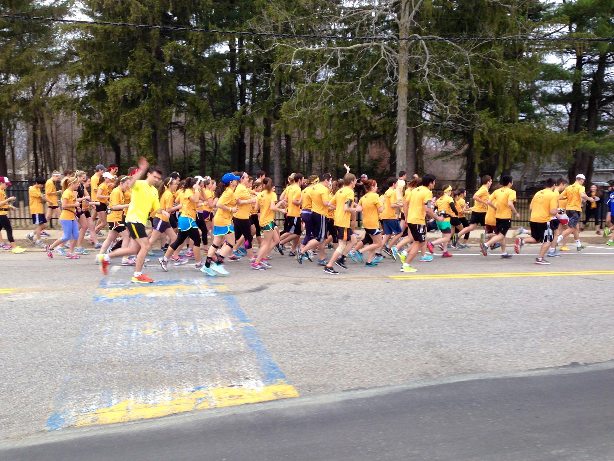 Photo courtesy of Boston College Campus School Bandit Marathon / Facebook