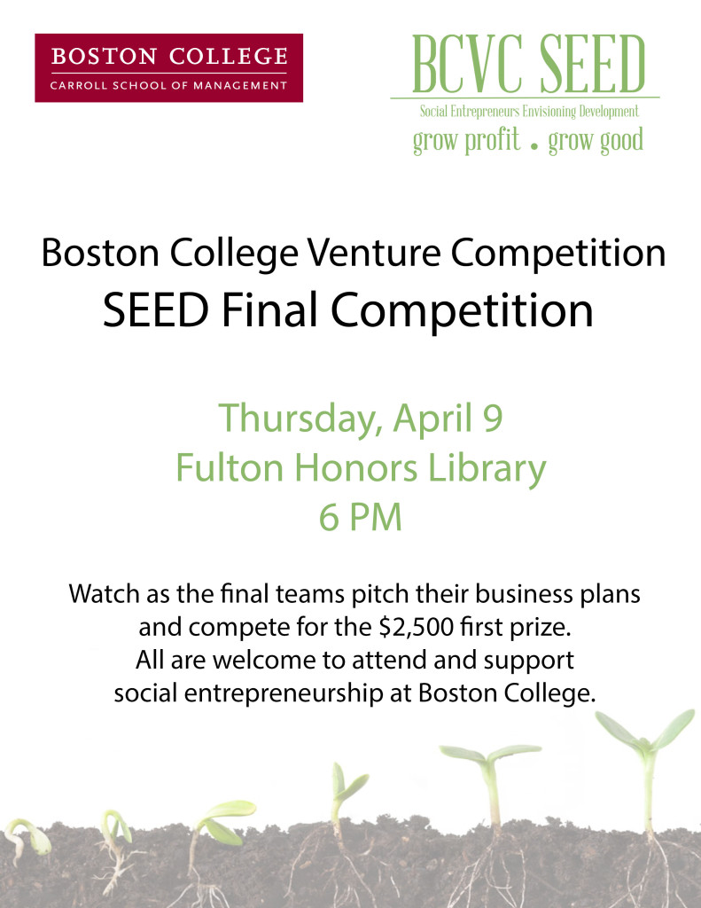 Photo courtesy of Third Annual BCVC SEED Final Competition / Facebook