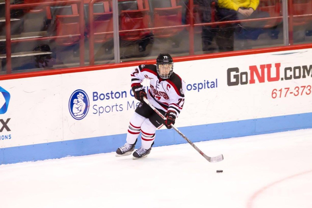 Photo courtesy of Northeastern Women's Ice Hockey / Facebook