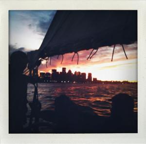 sailing boston