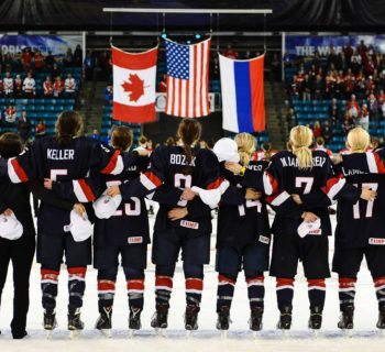 Photo courtesy of  U.S. Women's National Hockey Team / Facebook