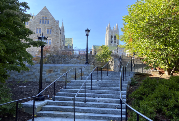 Gasson from the Million Dollar Stairs