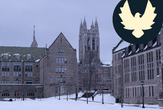 Photo of gasson with the Eagles for Social Activism logo in the corner.